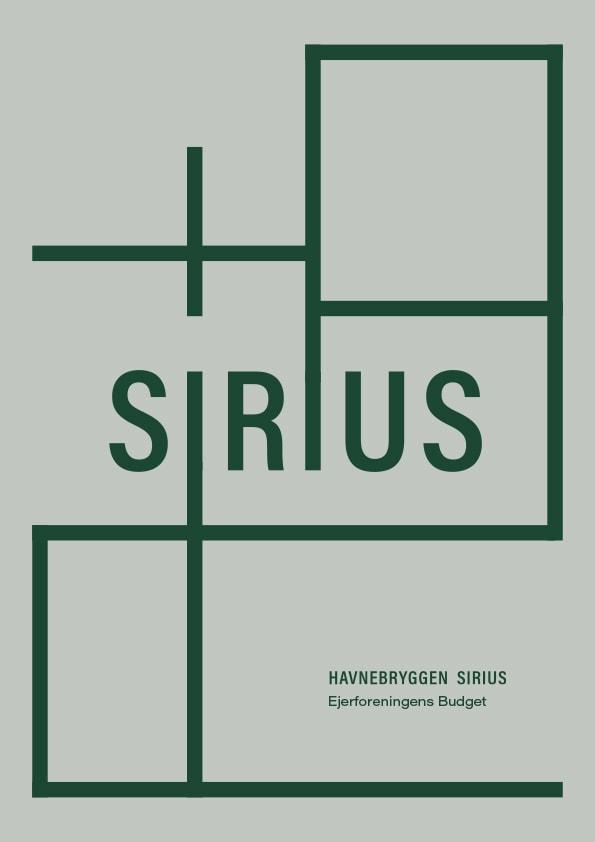 havnebryggen-sirius_ejerforeningens-budget